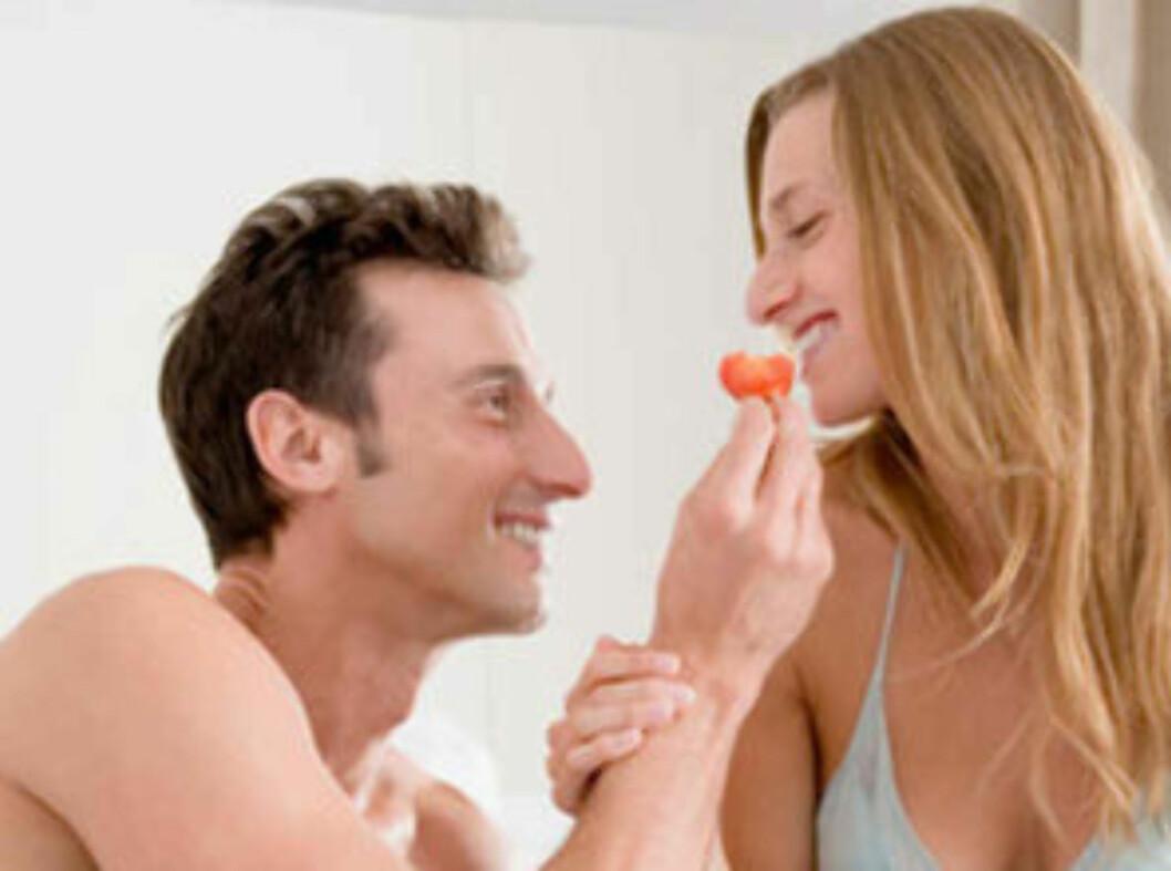 INGEN SEXLYST: Kanskje det er på tide å endre matvanene og få i seg de riktige vitaminene? Det skader i hvert fall ikke å prøve... Foto: Image Source