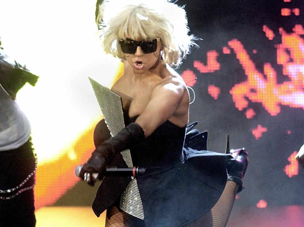 Alle vil bli like 80-tallskul og lettkledd som Lady GaGa.  Foto: All Over Press