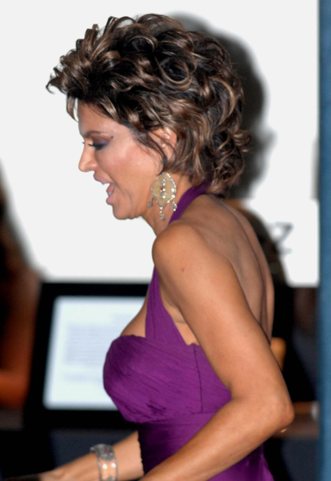 At den kjente programlederen Lisa Rinna også har gått ned en og annen kilo var også tydelig under Oscar-utdelingen.  Foto: All Over Press