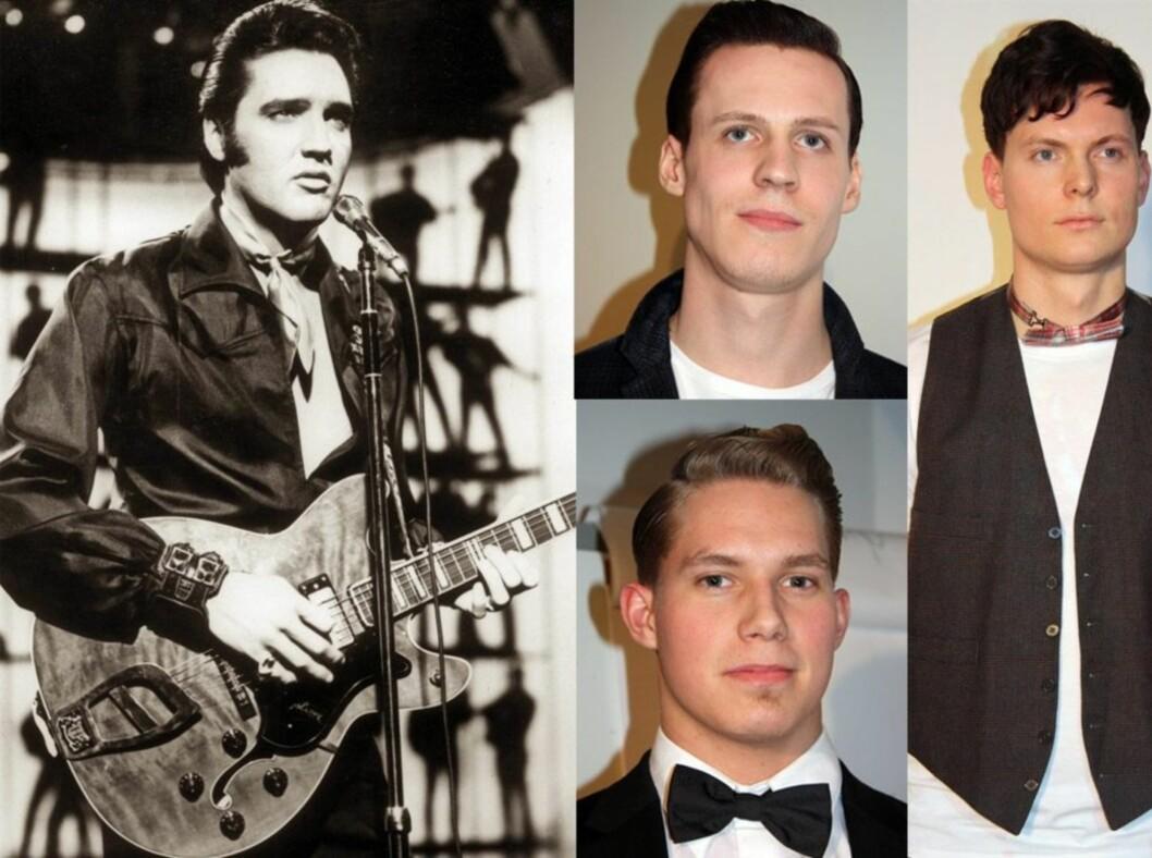 <strong>SLIK ER ROCKABILLYSVEISEN:</strong> Elvis Presley er det aller største forbildet for frisyren som kjennetegnes ved at håret skal opp, lappes sammen på siden og så kjøres gjennom med kammen. Foto: All Over Press/Kjersti Skar Staarvik