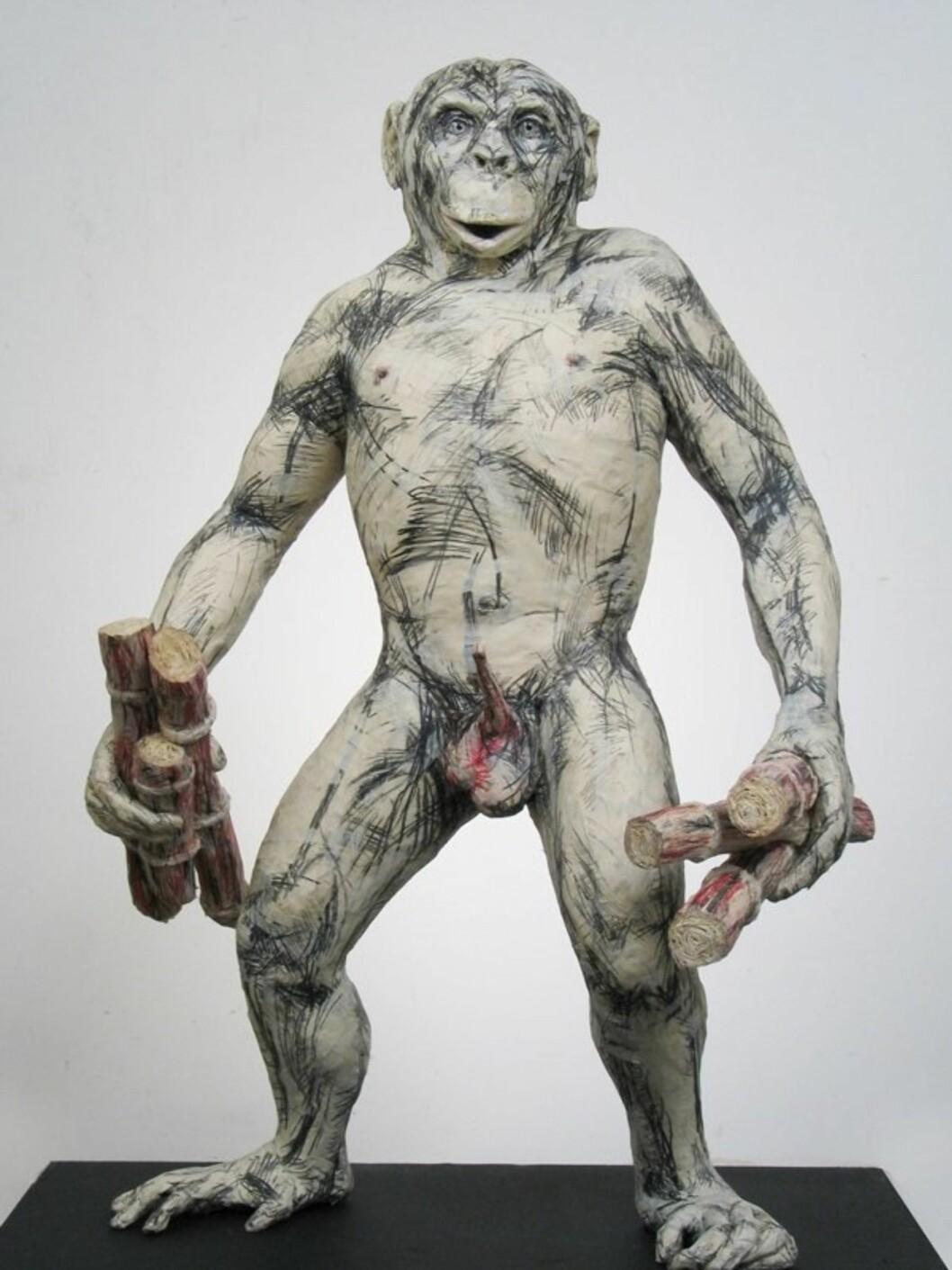 Sexy tur til New YorkDette er en dyr gave, men spanderer du New York-tur og besøk på Museum of Sex vil han huske presangen resten av livet. Museet ligger på Fifth Avenue og presenterer alt du kan tenke deg innenfor den seksuelle verden. I skrivende stund er nordmannen Rune Olsens utstilling «The Sex Lives of Animals» en av hovedattraksjonene. Skulpturen på bildet er laget av ham.Inngangsbillett, kr. 100,- + avgift. Fly til New York kr. 2637,- per person (i skrivende stund).
