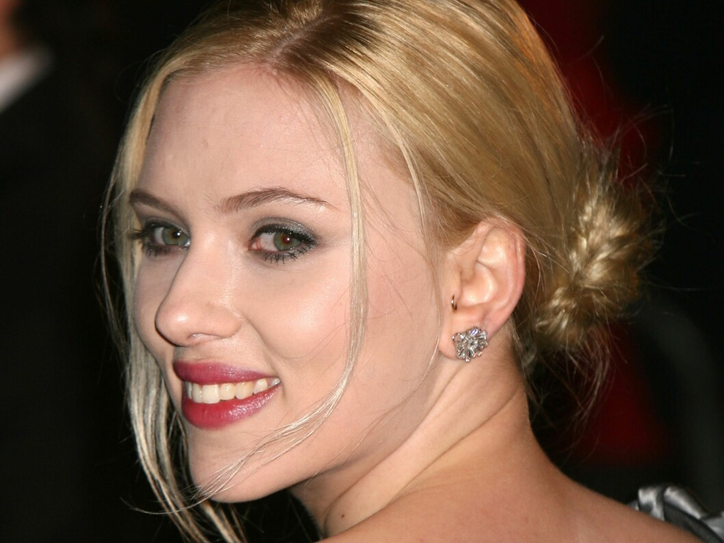 Skuespiller Scarlett Johansson strutter av selvtillit. Foto: All Over Press
