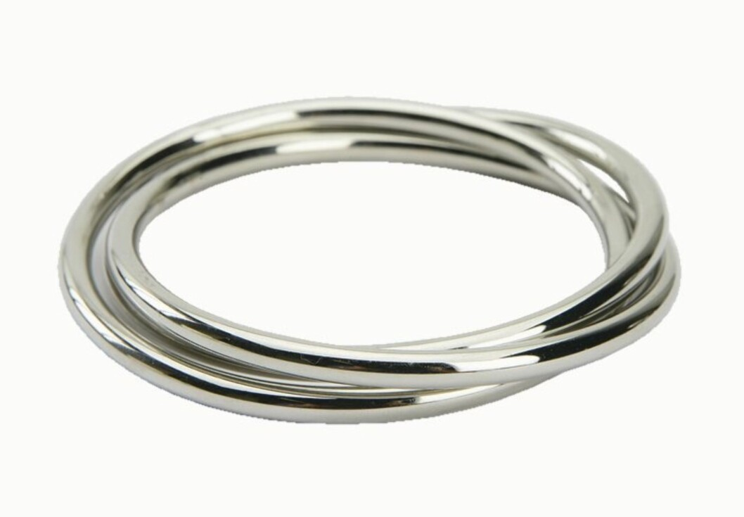 ENKELT ER ALLTID FINT: Armbånd i metall (kr 80, Accessorize).
