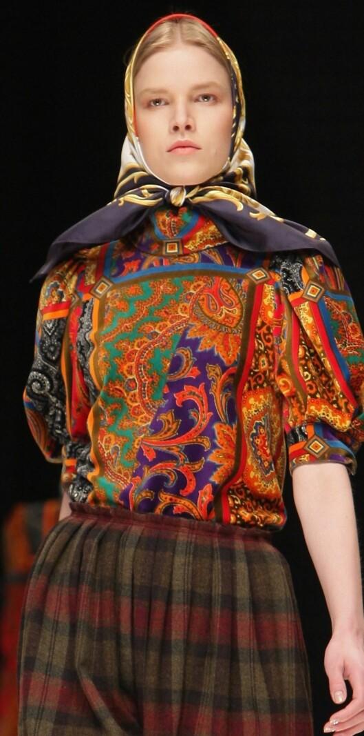 Dolce & Gabbana har latt seg inspirere av den russiske landsbygda denne høsten.