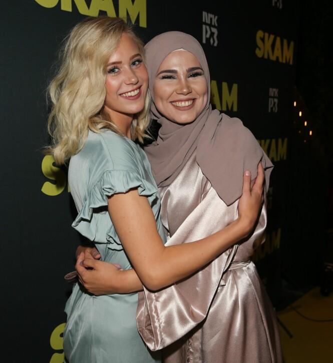 <strong>MILITÆRET:</strong> Iman som spiller Sana skal videre i Militæret nå som serien straks er over. Foto: Andreas Fadum / Se og Hør
