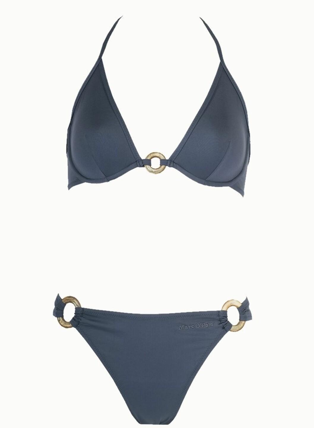 I DUS BLÅ: Bikini i polyamid og elastan (kr 550, Marc OPolo).