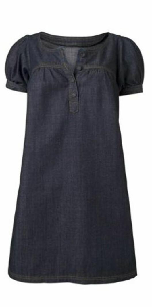 Kul dongerikjole som fint kan brukes til bukser eller tights (kr 370, La Redoute).