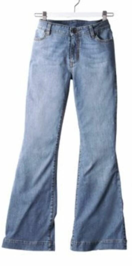 Vid bukse med sleng (kr 350, La Redoute).