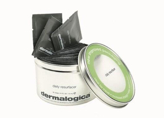 Dermalogica Daily Resurfacer er små peeling-pads som gir klar, frisk hud (kr 845/48 stk).