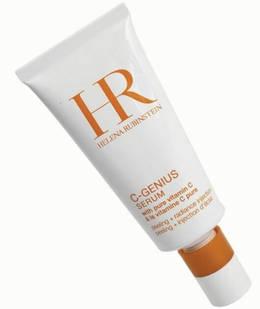 Helena Rubinstein C-Genius Serum inneholder mye C-vitaminer som skal gi deg en helt ny glød (kr 710).