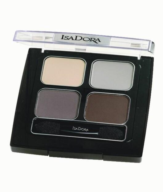 Skrin med fire fine farger som gir mange variasjonsmuligheter (kr 230, IsaDora).