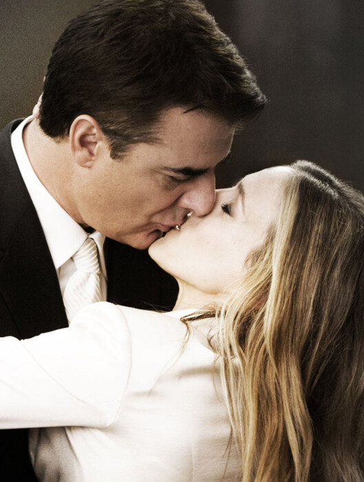 <strong>Sex in the city:</strong> the movie. Endelig kunne Carrie (Sarah Jessica Parker) og Mr. Big (Chris Noth) kysse hverandre som rette ektefolk.  Foto: All Over Press