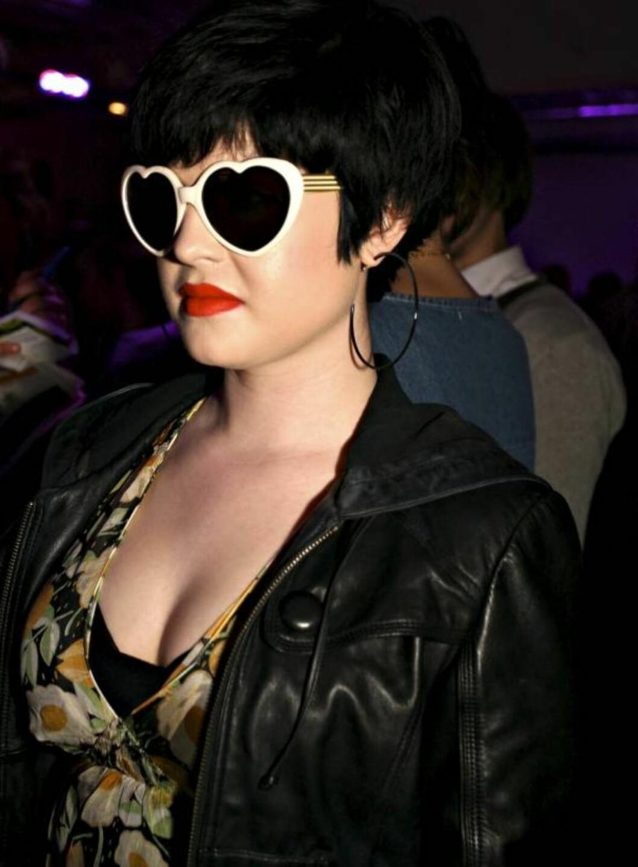 SOMMERENS HIPPESTE: Kelly Osbourne går for hjertevarianten.