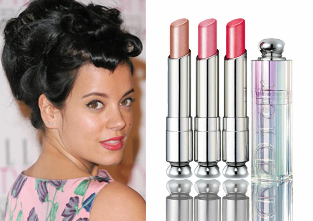 Søt som LilyDe nye fargene i serien Dior Addict High Shine kommer i alle vårens trendy og glansfulle nyanser, og er håndplukket av designeren John Galliano (kr 225, Dior).