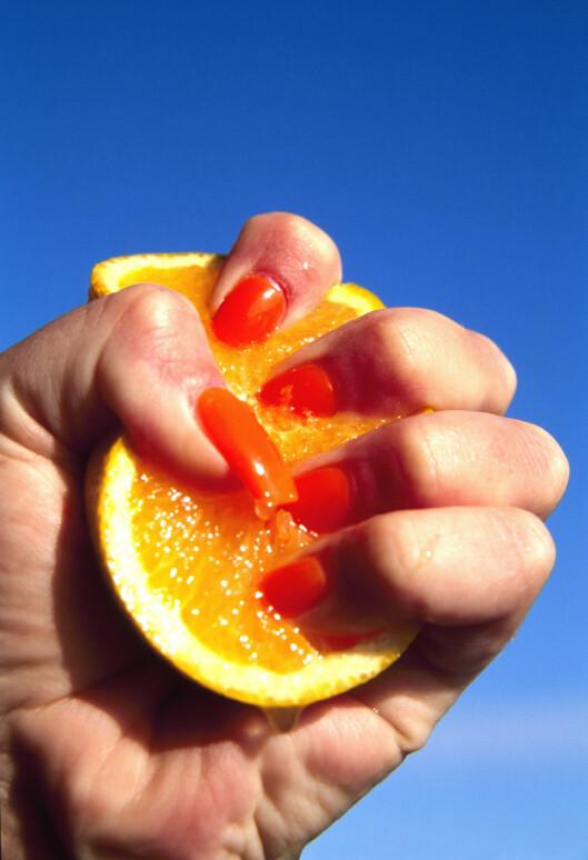 Den nye fruktjucien skal gjøre deg hele 70 prosent sterkere. Foto: All Over PressAll Over Press