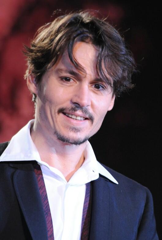 Skuespiller og romantiker Johnny Depp giftet seg med  sin kjære Vanessa Paradis i sommer. Foto: DEPP