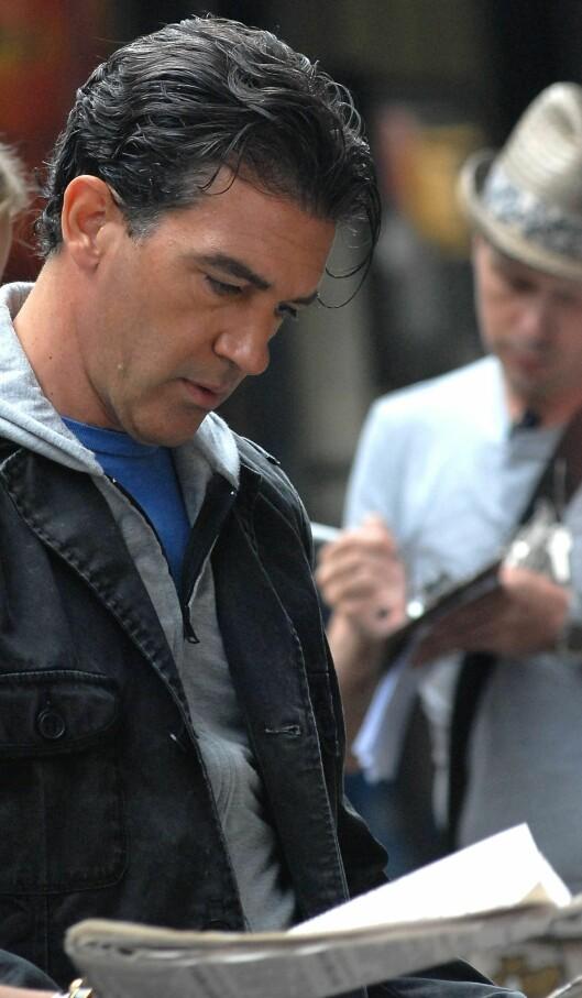 Skuespiller Antonio Banderas er 47 år, men eldre menn kan definitivt være sexy.  Foto: All Over Press