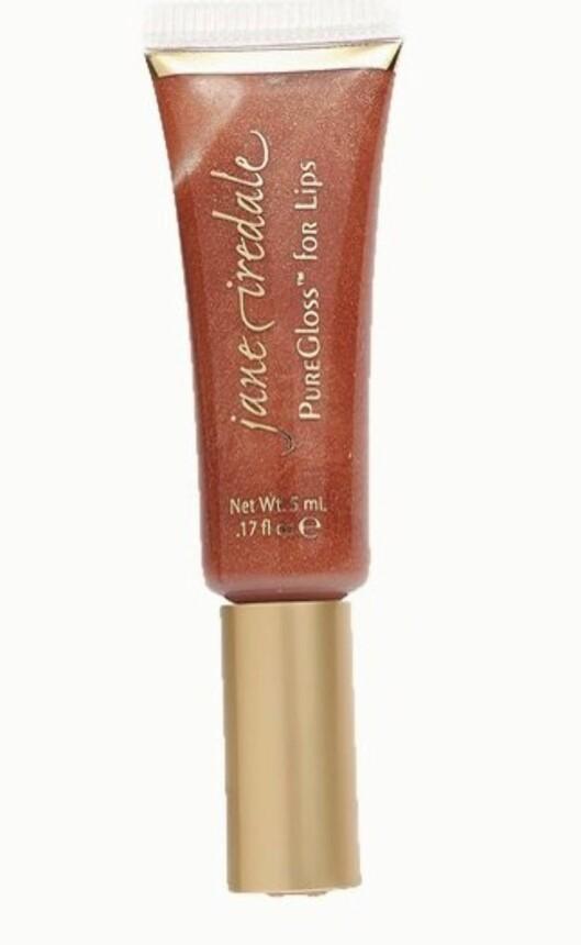 <strong>KK ANBEFALER:</strong> En skimrende lipgloss i en brent jordfarge gir leppene glans og ansiktet glød (kr 165, Jane Iredale).    KK03/2008 - Bli ny