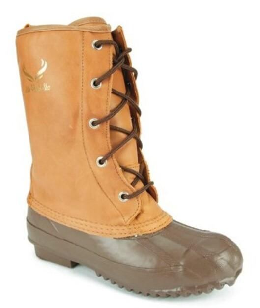 Vinterskolett i ekte skinn og gummi på foten (nedsatt fra 800 til 560 kroner, Lille Vinkel Sko).