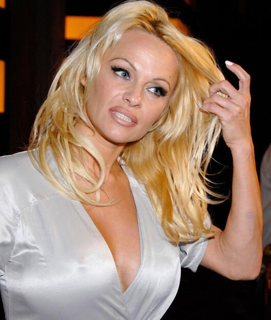 Pamela Anderson ble 80-tallets sjefsblondine i tv-serien Baywatch.
