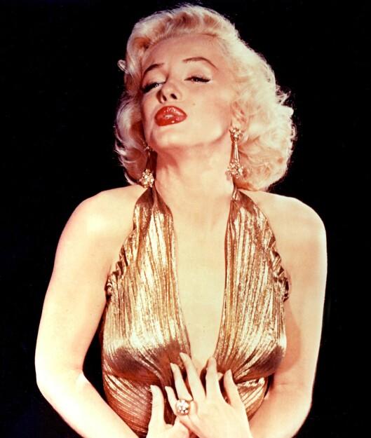 Marilyn Monroe hadde egentlig mørkt hår, og skal ha hatt en IQ langt over gjennomsnittet.  Foto: All Over Press