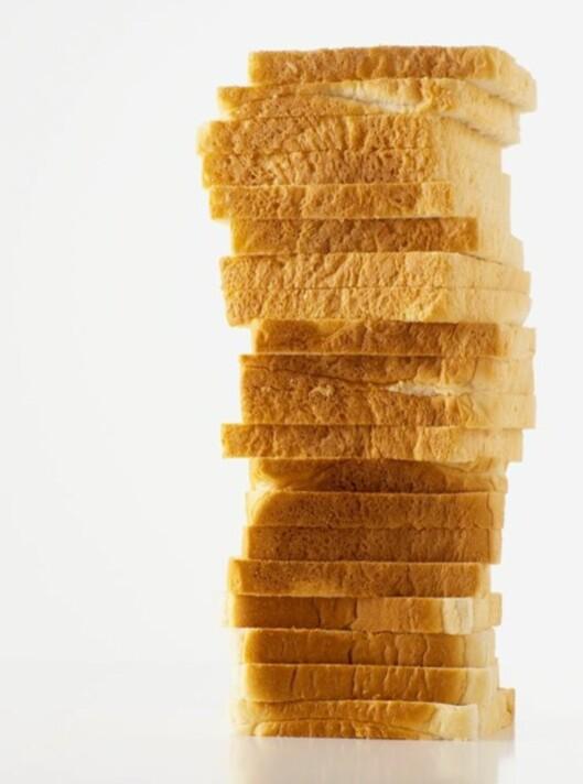 Hvitt brød funker ikke, skal man tro Fedon Lindberg.