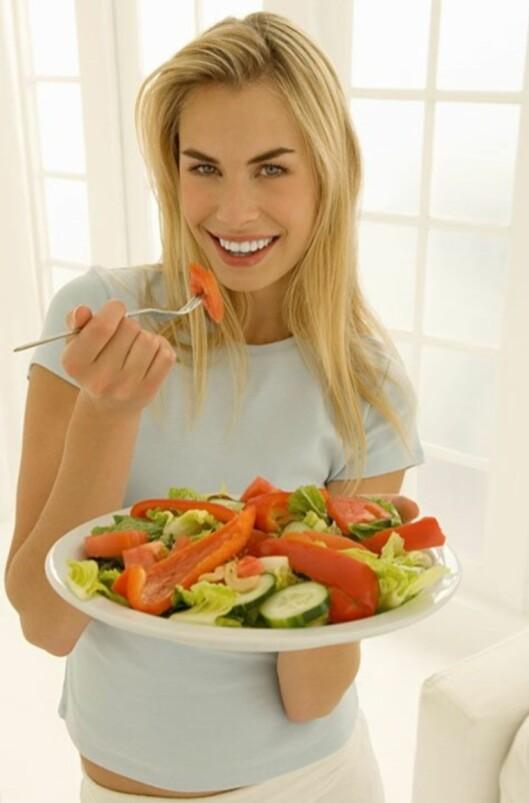 Ifølge Birger Svihus er grønnsaker det beste du kan få i deg.