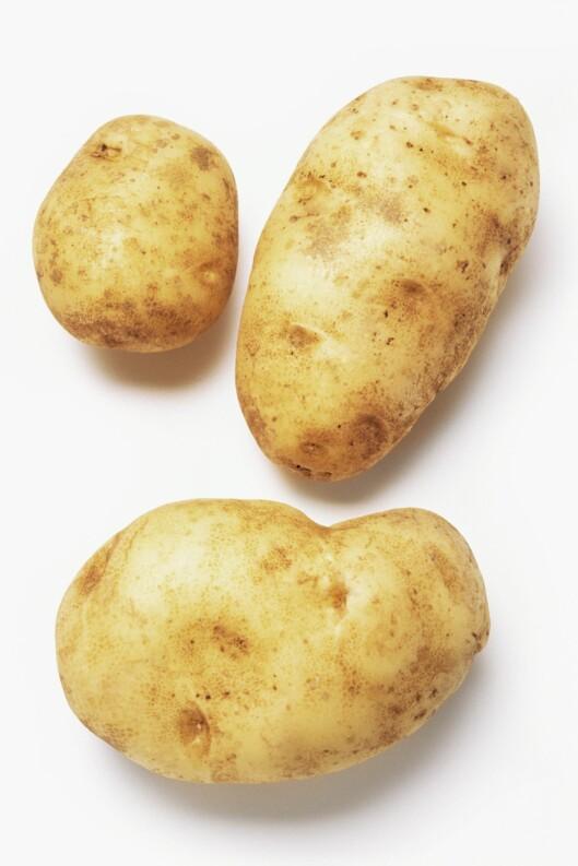 Grete Roede har, i motsetning til mange andre, ikke bannlyst poteten. Foto: Illustrasjonsbilde