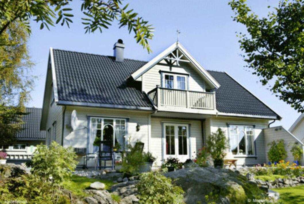 Huset «Ninni» fra Mesterhus er miljømerket med Svanemerke.