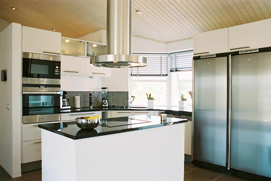 Kjøkkenet i «Uniqhus» fra Skanska.