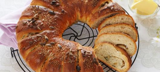Deilig fylt brød