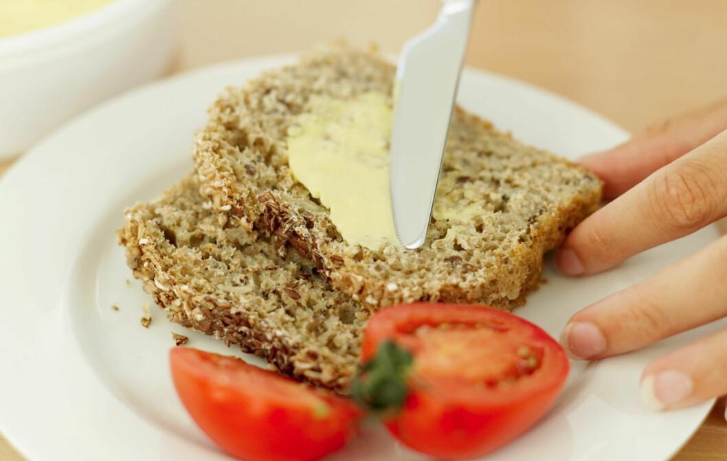 GROVIS: Du trenger ikke kutte alle karbohydrater, men selv om brødet er supergrovt bør du begrense inntaket. Foto: Getty Images