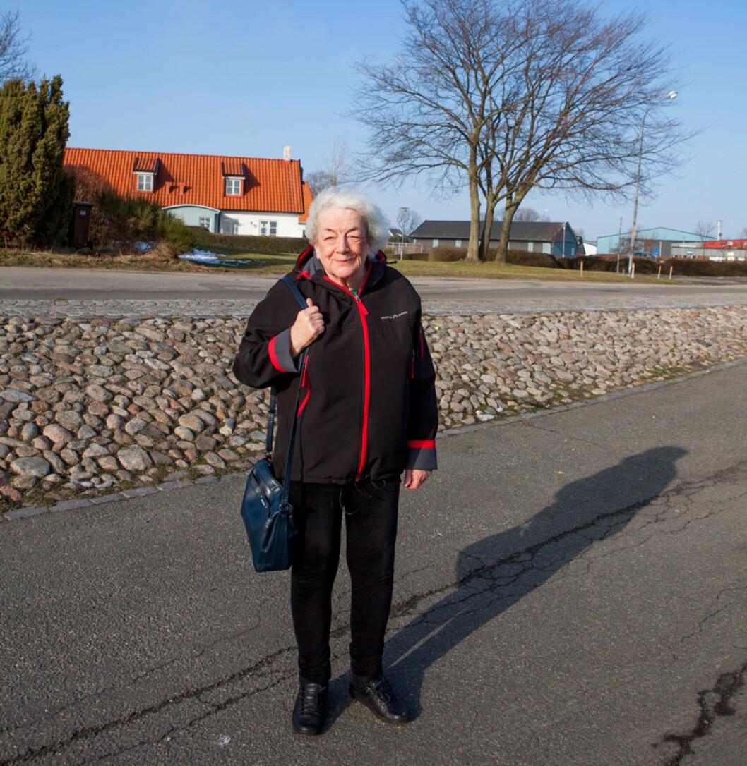 Etter mange år i sitt kjære Valdres valgte Margit å dra sørover, til den lille byen Skillinge i Sverige. En vindfull liten kystby, men adskillig varmere enn snørike Valdres.