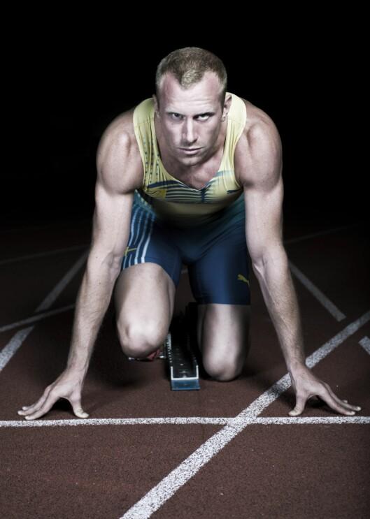 EKSPERTEN: Daniel Almgren, er Nordisk produktsjef i SATS - som har flere såkalte ekspresskonsepter - deriblant GRIT Strength og GRIT Plyo. Over jul lanserer kjeden enda flere slike konsepter.  Foto: SATS