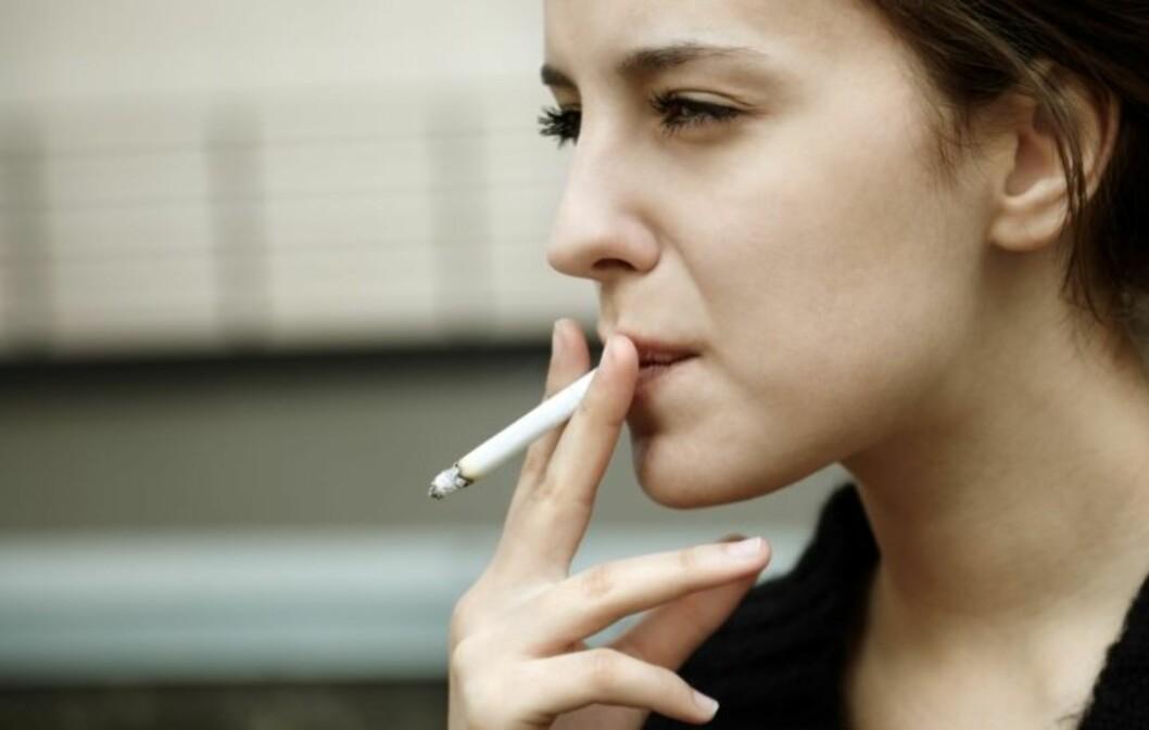 HJERNEN SVEKKES: Det er mange grunner til ikke å røyke. Hjernens ve og vel er en av dem.  Foto: Thinkstock.com