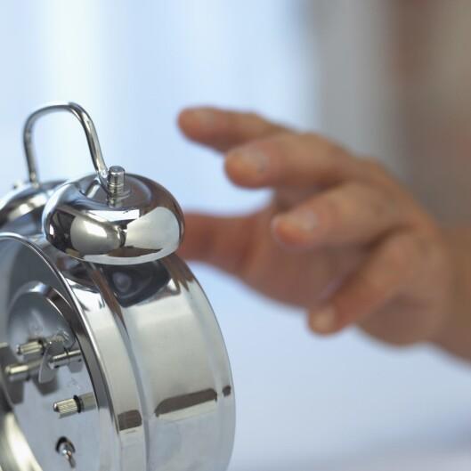 Hva gleder du deg til når vekkerklokka ringer? Foto: Getty Images/Brand X