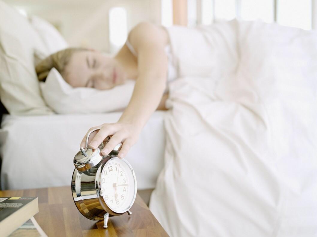SOVET DÅRLIG? Det er ikke så farlig hvor lenge du har sovet, det viktigste for kvinner som vil unngå høyt blodtrykk er god søvnkvalitet.  Foto: All Over Press