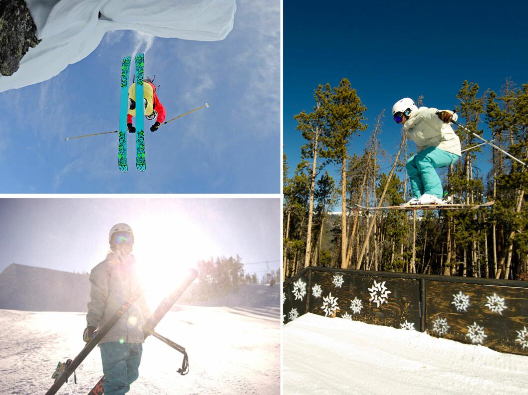 TENK BRUK: Ifølge Marianne Abry i Sweet Protection bør du først og fremst tenke bruksområde når du skal kjøpe deg nye ski/snowboardklær. Kjører du mye offpiste (utenfor løypene, i pudder) er det for eksempel viktig at klærne både transporterer fukt, holder deg varm og holder deg tørr.  Foto: Micahel Neumann/ Sweet Protection