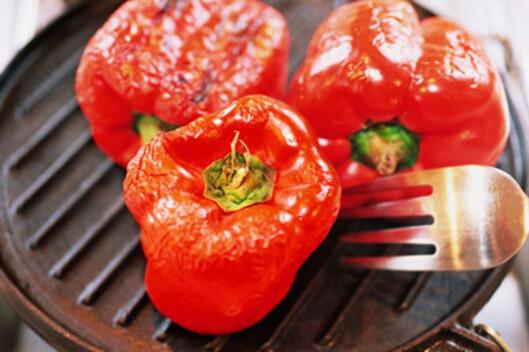 NÆRINGSSTOFFER: Rød paprika er den paprikavarianten med flest næringsstoffer. I tillegg til vitamin C, er grønnsaken rik på vitamin E, B6 og karotenoider.  Foto: Thinkstock.com