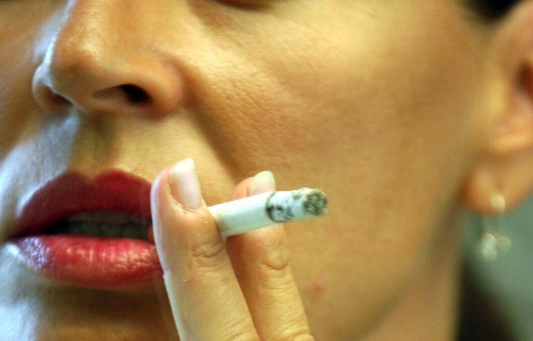 BARE GJØR DET: Helsefordelene ved å stumpe røyken er mange, og det er aldri for sent! Foto: Colourbox