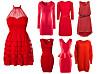 lille alt du Den trenger er kjolen KK røde OPXiTlkwZu