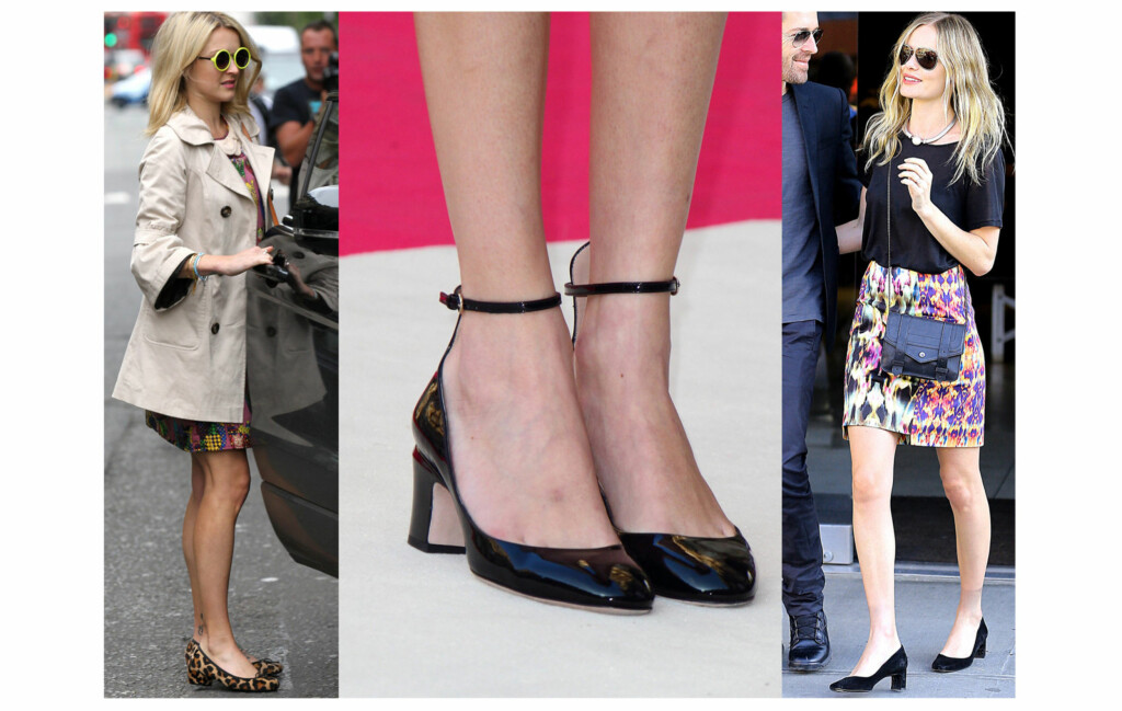 9c65db30d5b THE PETITE PUMP: Er en ballerinalignende sko med liten hæl på mellom 2,5