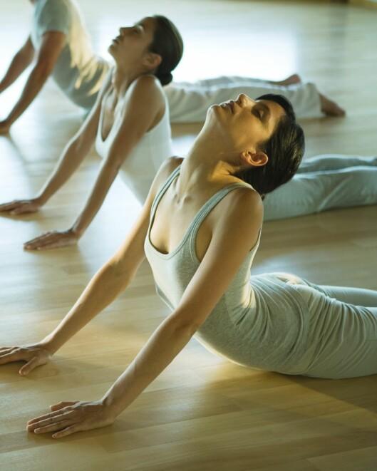 PRØV YOGA: Dersom du har vanskeligheter med å roe ned, kan yoga og meditasjon være verdt å prøve. Foto: 6PA/MAXPPP
