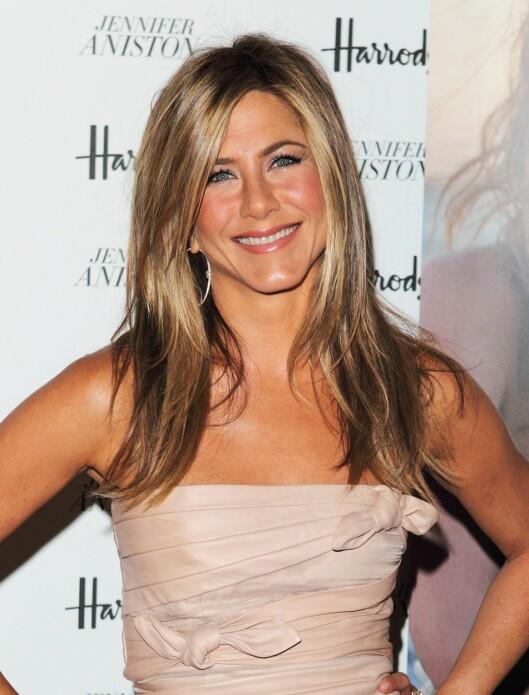 EN FAN: Jennifer Aniston skal være tilhenger av en alkalisk diett. Foto: All Over Press