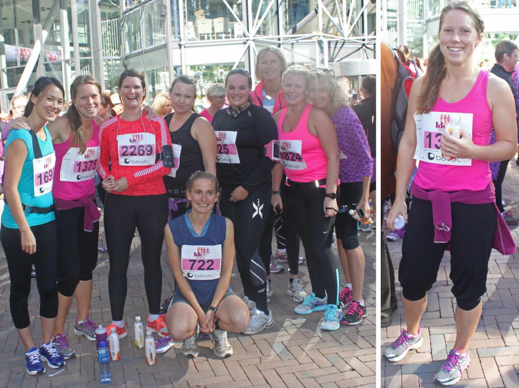 STARTET FACEBOOK-GRUPPE: Kristin Bråthen Alvim (30) og hennes venninner startet en gruppe på Facebook for å holde motivasjonen oppe. Nå trener de sammen flere ganger i uken. Foto: Tone Ruud Engen