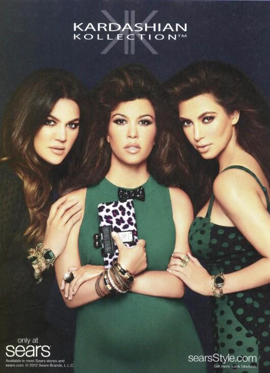 TIL EUROPE: Kardashian-søstrenes kleskolleksjon skal i november lanseres i Europa, og vil blant annet være tilgjengelig hos Dorothy Perkins.  Foto: All Over Press