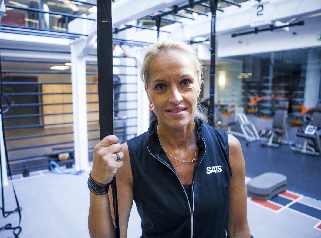 Pernilla Gunnskog var instruktør da KK.no testet Transformer på SATS Bislett.  Foto: Per Ervland