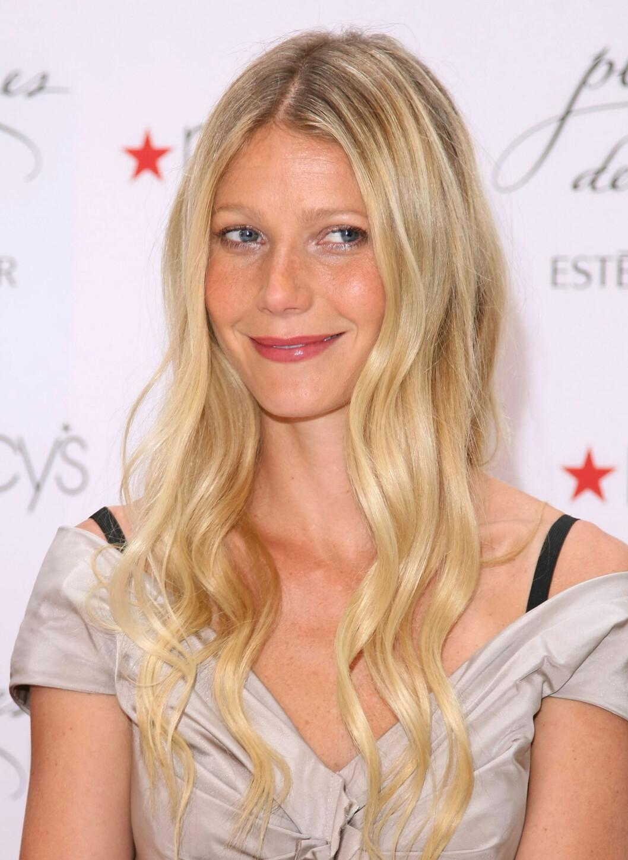 Her er Gwyneth solbrun og fin. Foto: All Over Press