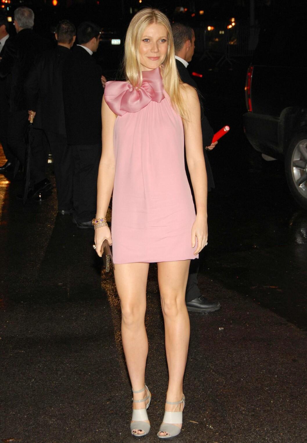 Gwyneth i Gucci. Foto: All Over Press