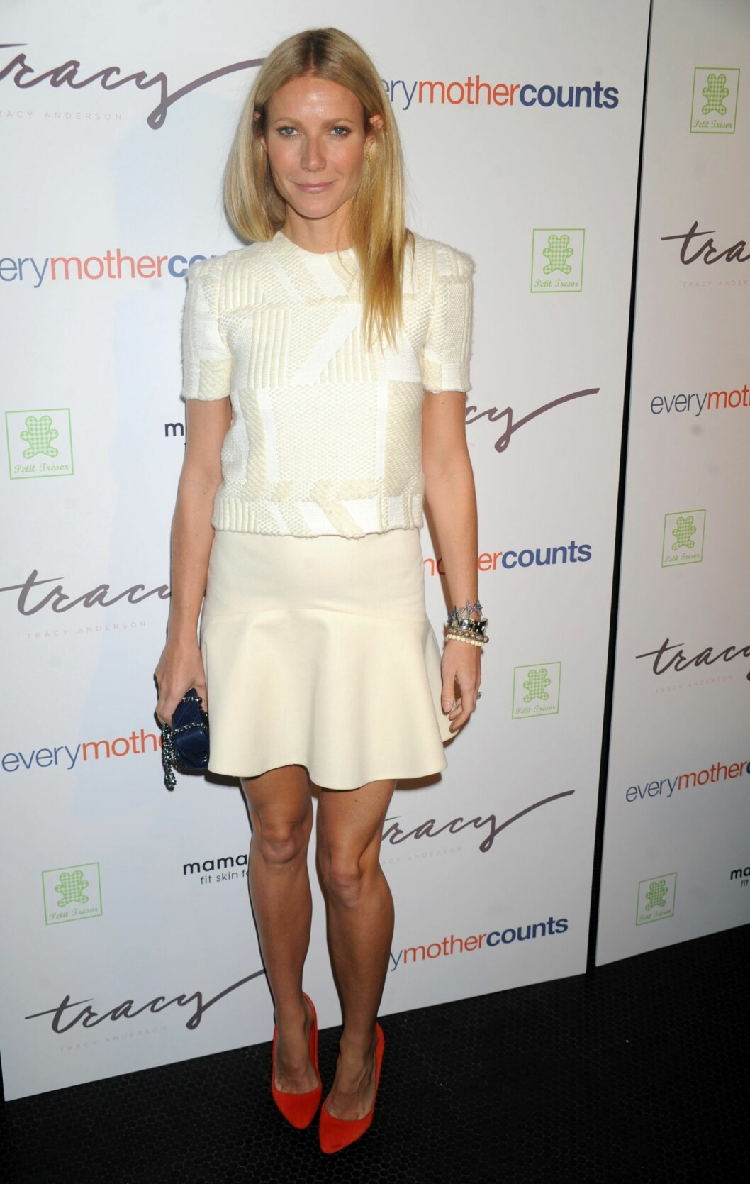 Gwyneth Paltrow kjører minimalisme med stort hell.  Foto: All Over Press